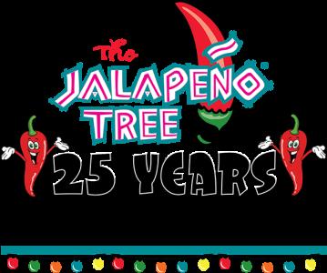 Logo for company The Jalapeño Tree, mexican restaurant